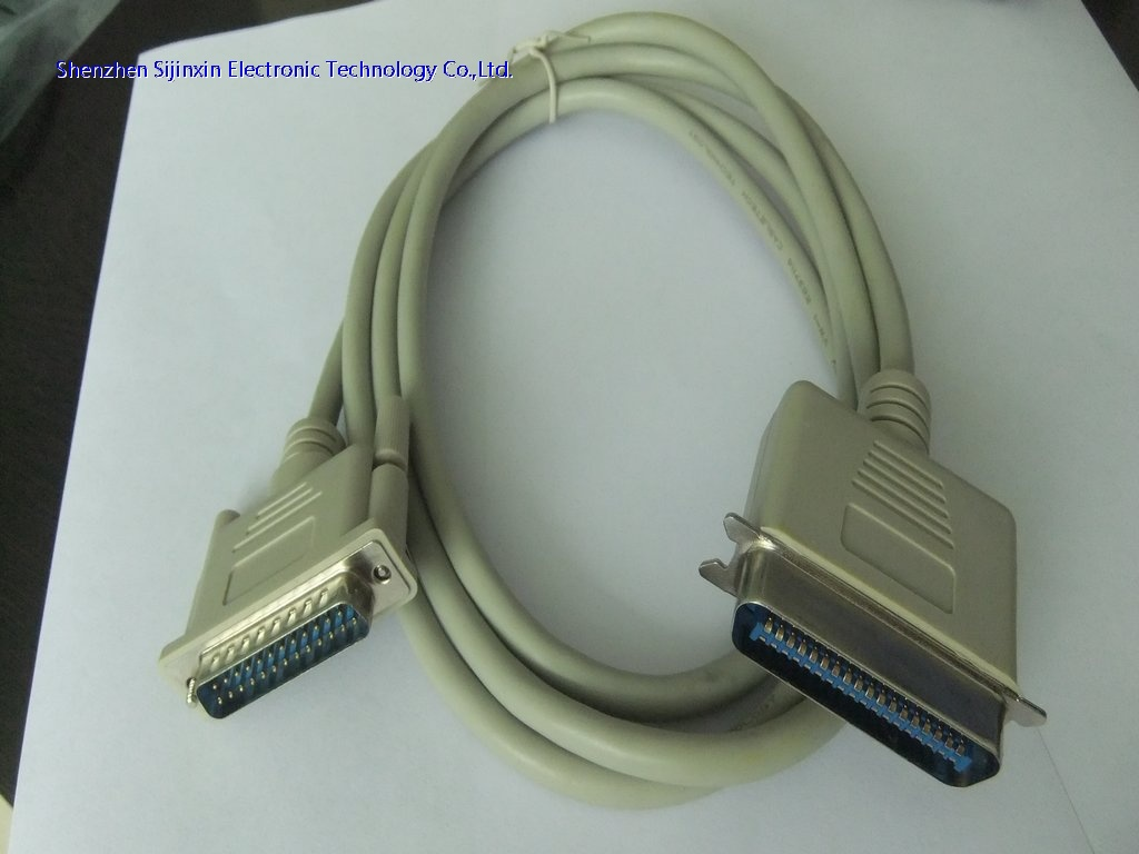 DB25 to CN36  printer cable