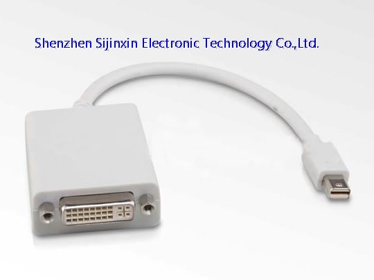 mini Displayport to DVI  adapter cable-M/F