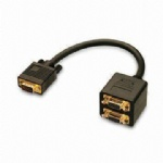 VGA to 2*VGA spliiiter cable