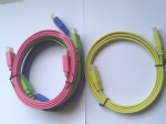 colorful Flat HDMI cable